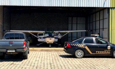 PF apreende aeronave que teria sido comprada com dinheiro desviado da Prefeitura