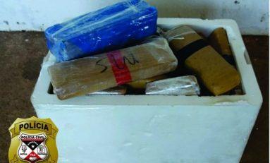 Casal é preso com mais de 30 Kg de entorpecentes em Porto Velho