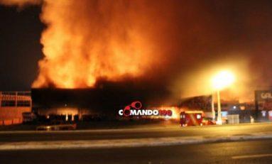 Incêndio atinge loja de materiais agrícolas em Ji-Paraná