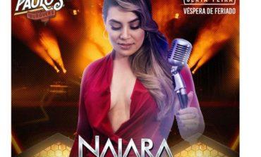 Novembro: Naiara Azevedo anuncia show no Parque de Exposições dia 22