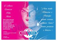 Campanha Azul & Rosa realizada em Vilhena visa arrecadar cabelos para confecção de perucas