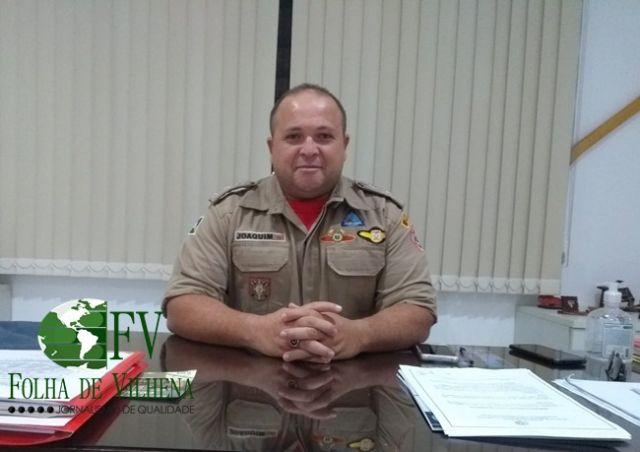 Ex-Comandante do Bombeiro Militar de Vilhena deixa UTI após vencer COVID-19