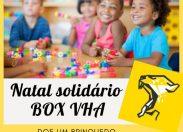 Doe um brinquedo: atletas do BOX VHA realizam Campanha de Natal Solidário