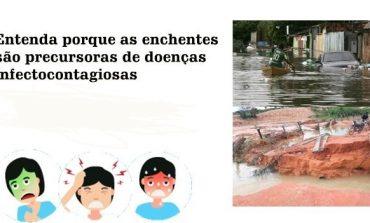 Entenda porque as enchentes são precursoras de doenças infectocontagiosas - por Hayslla Couto