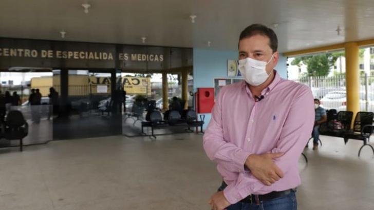 Prefeito visita unidades de atendimento e enfrentamento ao novo coronavírus