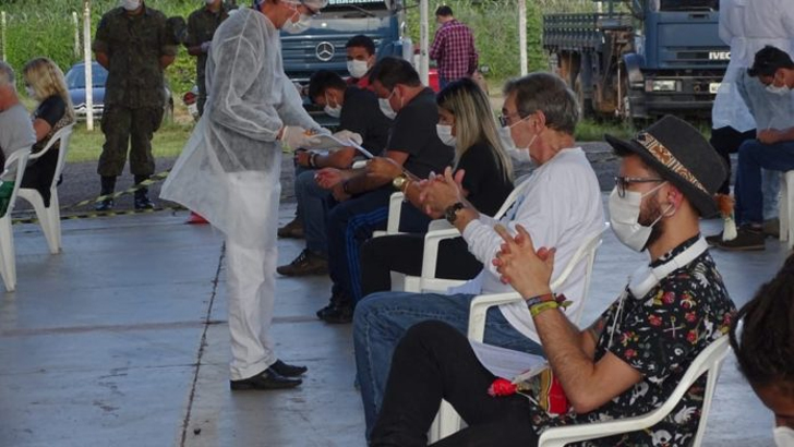 Barreiras sanitárias para enfrentamento do Covid-19 são realizadas em 17 municípios de Rondônia
