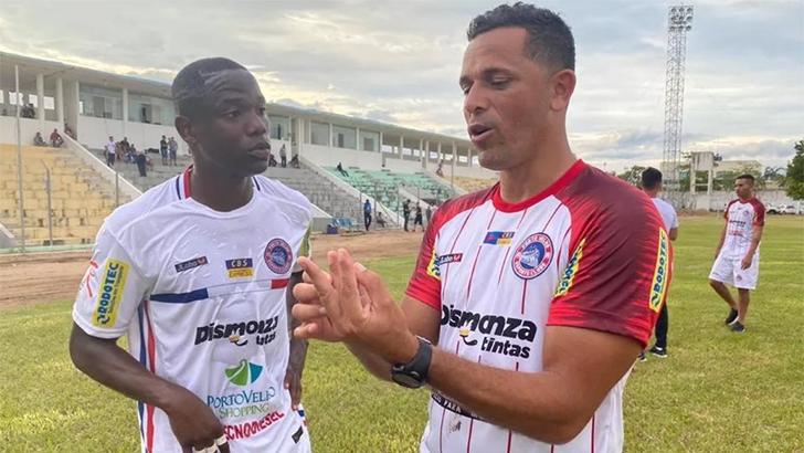 """Líder do Estadual, técnico do Porto Velho revela: """"Ir para Rondônia foi um desafio muito grande"""""""