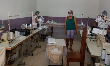 Cacoal: Projeto com detentas em irá produzir cerca de 15 mil máscaras para  instituições de Segurança Pública e população carente