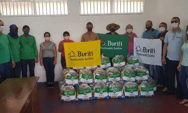 Grupo Buriti entrega cestas básicas a Associações de Moradores em Cacoal