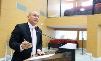 Deputado Ezequiel Neiva comemora início da construção da ponte sobre o rio Escondido, em Cabixi