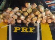 PRF/RO intercepta carregamento de mais de R$ 1 milhão em drogas