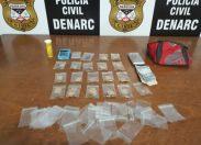 Porto Velho: DENARC prende motorista de aplicativo que fazia delivery de droga