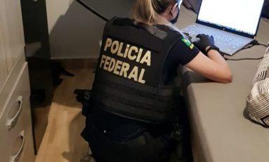 Operação da Polícia Federal cumpre mandados contra suspeitos de armazenar e divulgar imagens e vídeos de crianças e adolescentes em Cacoal