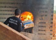 Polícia Federal incinera mais de 140 quilos de drogas em cidade de RO