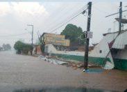 Porto Velho: chuva com granizo causa destruição, confira vídeo