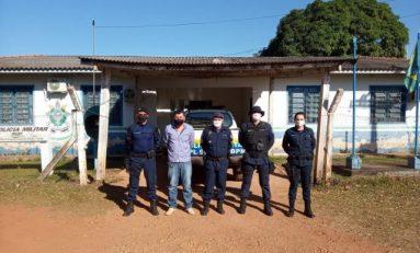Cabixi: melhorias na base do quartel da PM serão realizadas após emenda do Deputado Luizinho Goebel e indicação do Vereador Imar de Lima