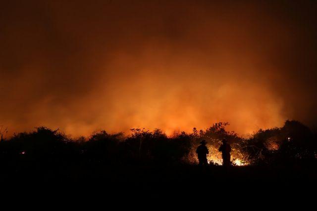 Pantanal tem maior número mensal de focos de incêndios na história
