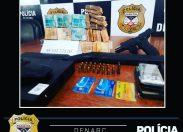 Agentes da Denarc cumprem mandado de prisão contra suspeito ligado ao tráfico internacional de drogas