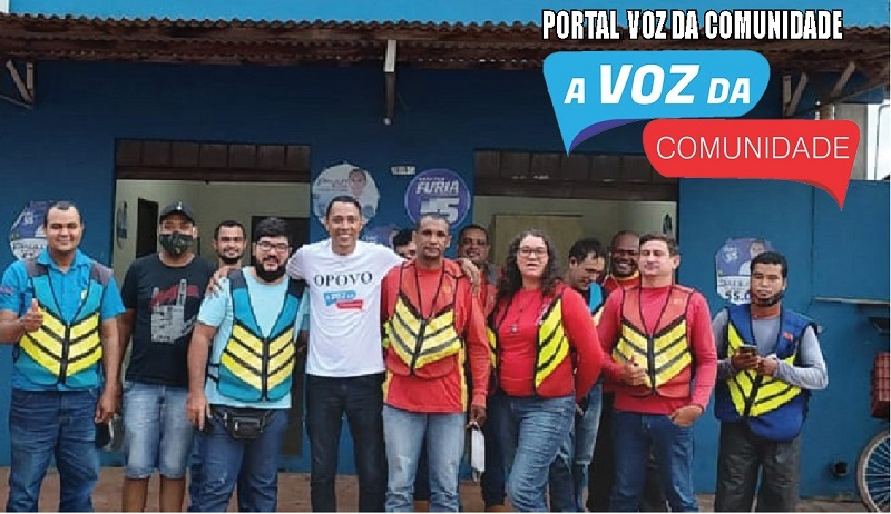 """Paulo Rosa """"A Voz da Comunidade"""" ouve as reivindicações dos moto aplicativos"""