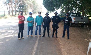 Cabixi organiza barreira sanitária nas Vilas Neide e São João no feriado prolongado para conter propagação do novo coronavírus