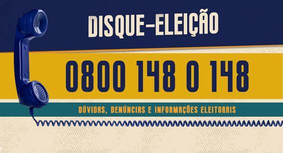 Disque-eleição 148 do TRE-RO funcionará 24h por dia