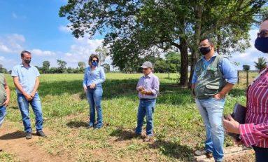 Pimenteiras D'Oeste: equipes da SEAGRI, EMATER e SEBRAE no Cone Sul realizam visita a gestores e agricultores, promovendo orientações
