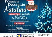 Chupinguaia: resultado do Concurso de Decoração Natalina é divulgado
