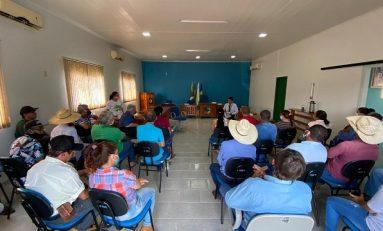 Oportunidades de acesso ao crédito rural são apresentadas aos produtores de Pimenteiras do Oeste