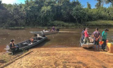 Cabixi: terminou nesse sábado (21) décima primeira edição do mutirão de limpeza no Rio Guaporé
