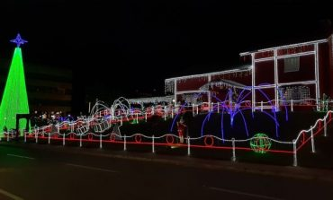 Decoração natalina de Ji-Paraná chama atenção dos moradores e turistas