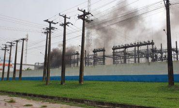 Incêndio em subestação da Energisa em Ji-Paraná deixa moradores sem energia elétrica