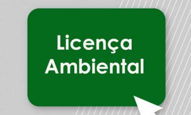 Pedido de Licença Ambiental