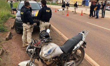 Policial Civil morre após sofrer queda de moto na BR-364 em Porto Velho