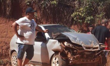 CORUMBIARA: Rapaz morre ao capotar veículo na rodovia do boi