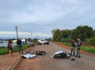 Dois jovens morrem e outros três se ferem em colisão de motos na RO-257