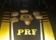 PRF apreende mais de 3 quilos de drogas, em Guajará Mirim