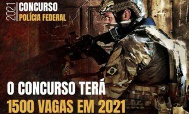 Sai edital do concurso da Polícia Federal: serão 1.500 vagas com remuneração inicial de R4 12.522,50