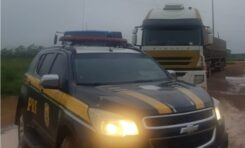 Em Humaitá/AM, PRF identifica transporte ilegal de 100 m³ de madeira