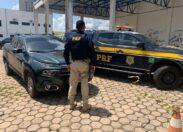 Em Ji-Paraná, PRF identifica caminhonete clonada