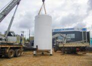 Governo instala tanque de oxigênio reserva para garantir aumento de leitos no Hospital de Campanha de Rondônia
