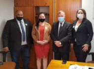 Em Brasília, prefeita de Chupinguaia e vereadores buscam recursos para atender as demandas do município