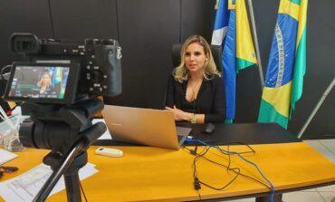 Prefeita de Ariquemes, Carla Redano, testa positivo para a Covid-19