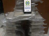 Cocaína apreendida em Cerejeiras é incinerada por determinação judicial