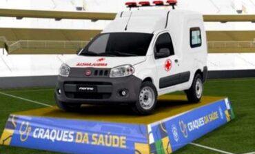 CBF doa ambulância para o hospital de Rondônia e FFER fará a entrega