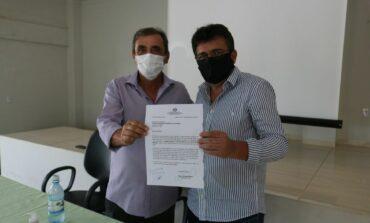 Prefeito de Cabixi solicita ao deputado Chiquinho da Emater recurso para manutenção e recuperação de linhas vicinais
