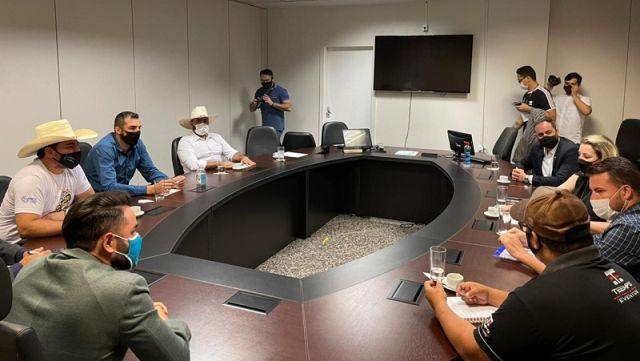 DR Luiz Paulo participa de Reunião com deputada Jaqueline Cassol em apoio aos artistas de Rondônia
