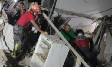 Explosão faz casa desabar e quatro pessoas morrem em Natal