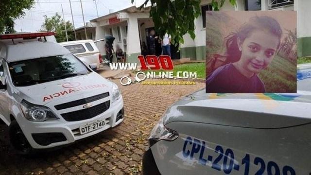 Menina de 11 anos morre após ser atingida por galho de árvore