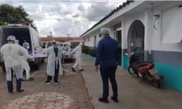 Hospital de Cacoal recebe gestante de Pimenta Bueno em estado grave e com suspeita de covid-19