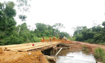 DER conclui manutenção na ponte sobre o rio São João na RO-399, em Corumbiara